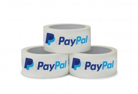 PayPal Klebeband (66m x 50mm, leise abrollend)